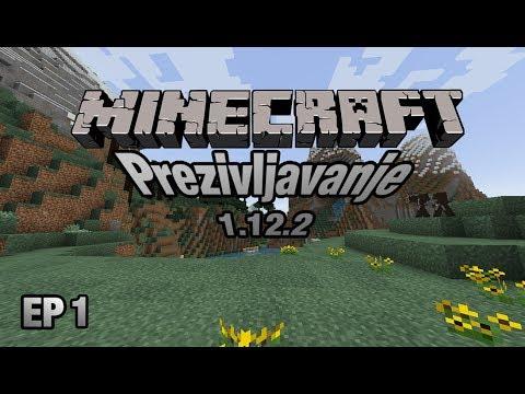 Minecraft Prezivljavanje Epizoda 1