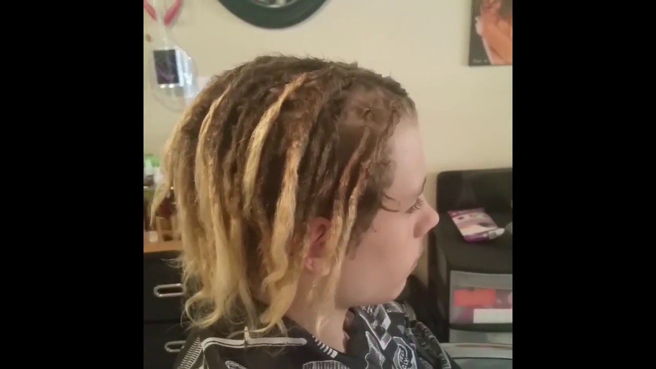 dreadlocks straight hair