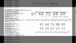 plombier paris 24/24 7/7(, 2013-03-31T14:23:24.000Z)