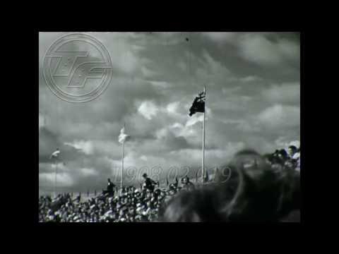HELSINKI 1952 [DANA ZATOPKOVA] Javelin Throw AMATEUR FOOTAGE