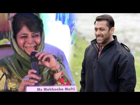 Salman Khan Is The NEW Brand Ambassador Of Jammu & Kashmir? Said Mehbooba Mufti