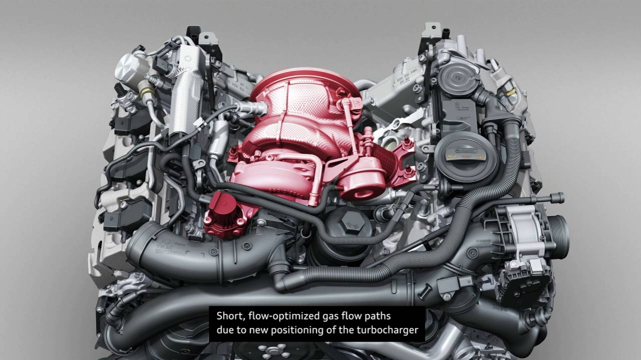 2017 Audi S5 Coupe – Animation 3.0 TFSI, drive train - YouTube