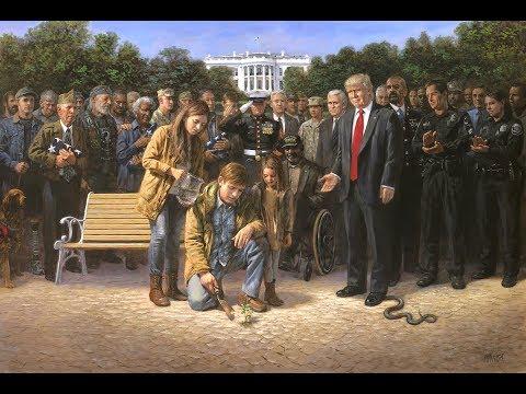 You Are Not Forgotten - New Trump Painting - Jon McNaughton