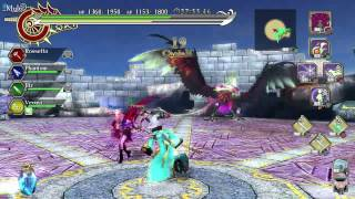 Ragnarok Odyssey Ace (PS3): Mage C4-10 [4P Co-op]