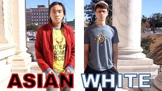 Asian vs White Racism Social Experiment!!