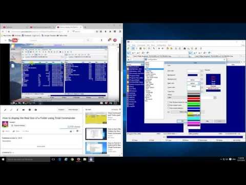 How to make Total Commander look like Norton Commander or DOS Navigator