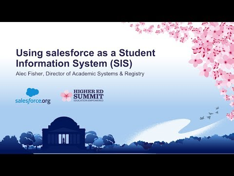 Using Salesforce as a Student Information System SIS
