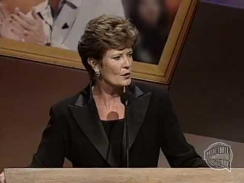 Pat Head Summitt's Basketball Hall of Fame Enshrinement Speech