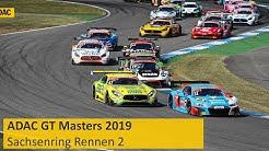 ADAC GT Masters Rennen 2 Sachsenring 2019 Re-Live Deutsch