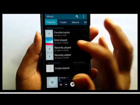 Samsung Galaxy S5 : How to play music (Android Phone)
