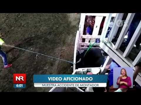 Montador muere en corrida de toros en Atenas