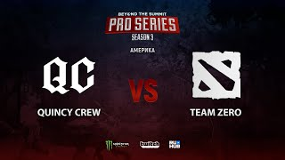 Quincy Crew vs Team Brazil, BTS Pro Series 3: Americas, bo3, game 1 [Lex]