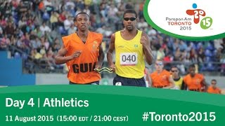 Day 4 | Athletics | Toronto 2015 Parapan American Games