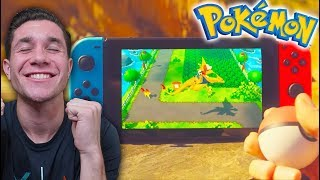 POKÉMON GO ON NINTENDO SWITCH!