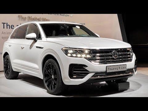 НОВЫЙ Volkswagen Touareg 2018. ПЕРВЫЙ Обзор.