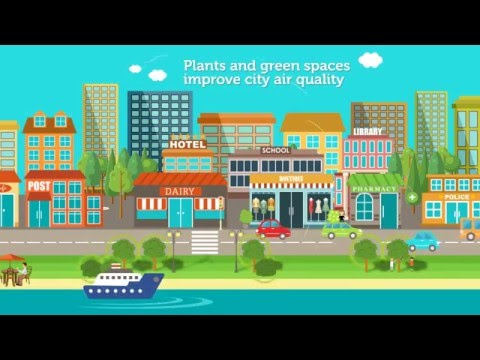 Green spaces good for people, the community and the country