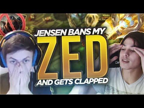 LL STYLISH | JENSEN BANS MY ZED ? AND GETS CLAPPED ! [ft. PANTS ARE DRAGON]