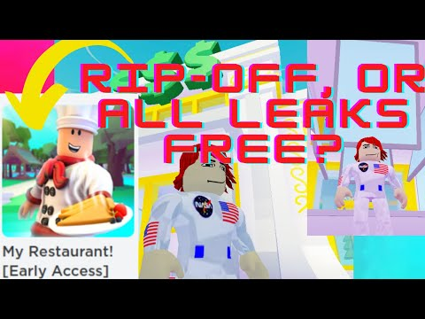 My Restaurant Roblox Leaks I Got Access To The Roblox My Restaurant Early Access To Updates Game For 25 Robux Robloxskyblockads