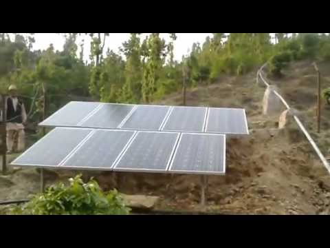 Solar powered pumps for irrigation in Dailekh Bheri Nepal-Part 2