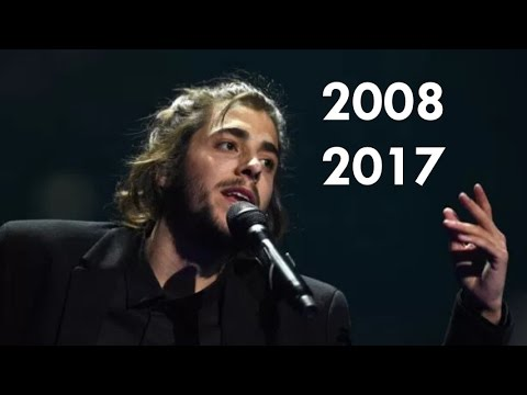 LAST 10 WINNERS of Eurovision (2008-2017)