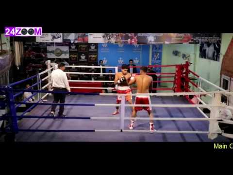 Marine Centre Pro Boxing / Upgradation Bout / Surjeet Singh vs Sunny Chauhan