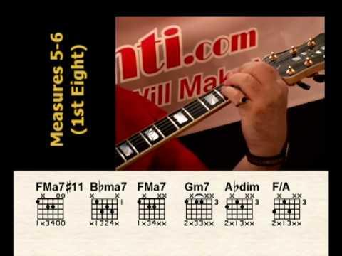 God Bless The Child - Jazz Guitar DVD - Robert Conti