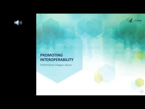 July 12 MIPS Promoting Interoperability Performance Category webinar