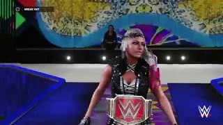 WWE 2K18 | Alexa Bliss W/ Mickie James WrestleMania 34 Entrance