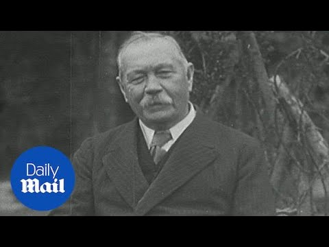 Sir Arthur Conan Doyle discusses interest in spiritualism - Daily Mail