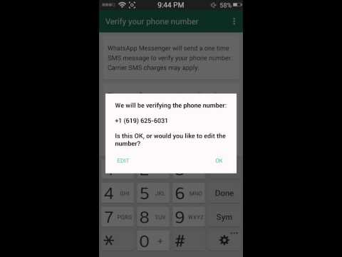 How To Use What's App With Other Country's Number