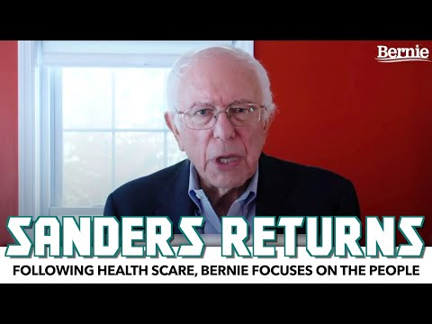 Bernie Sanders Returns With An Uplifting Message