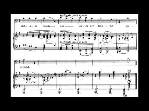 Brahms - 4 Serious Songs, op.121