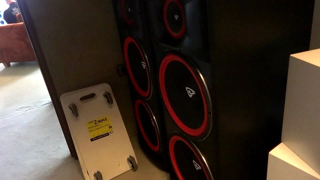 cerwin vega xls 215 sound test