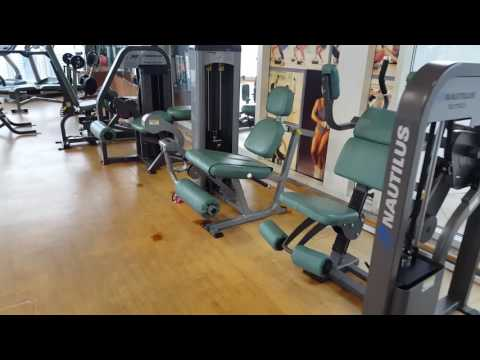 Gym equipments DU building, Hamdan, Abudhabi