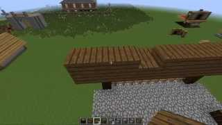 Minecraft Tutorial -  How to Build a Medieval Bridge!