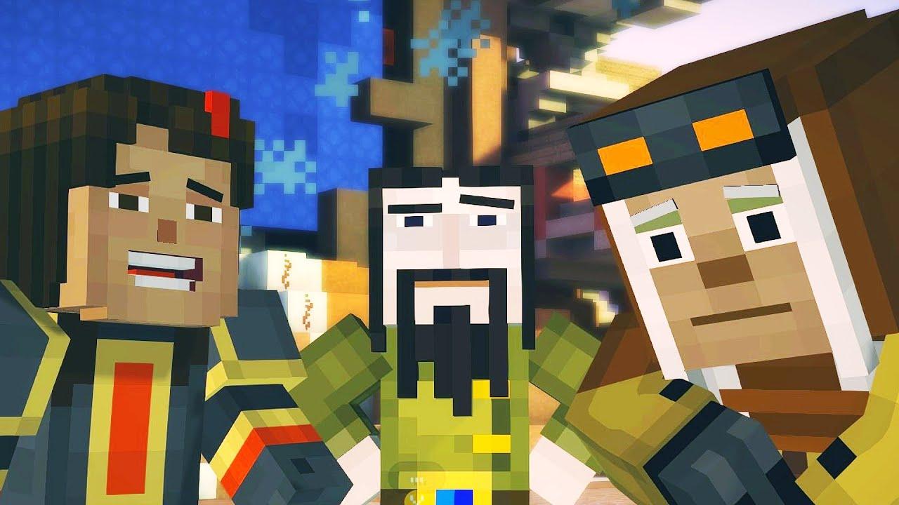 Download Minecraft: Story Mode Walkthrough - Ending - Episode 7: Access Denied - Chapter 6