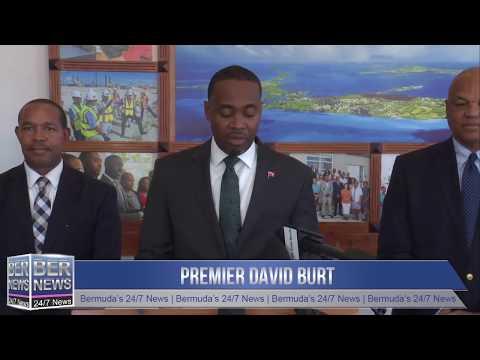 Premier David Burt On Upcoming TechWeek, Oct 7 2019