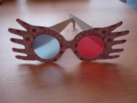 image relating to Luna Lovegood Glasses Printable called Handmade Luna Lovegood Spectre Technical specs