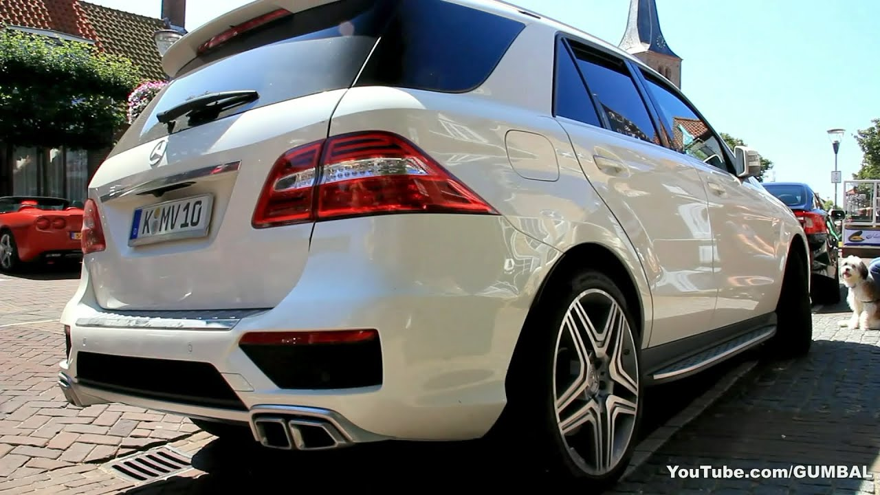 Captivating 2013 Mercedes Benz ML63 AMG   YouTube