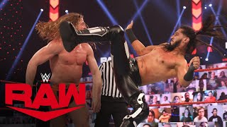 Riddle vs. Mustafa Ali – United States Championship Match: Raw, Mar. 15, 2021