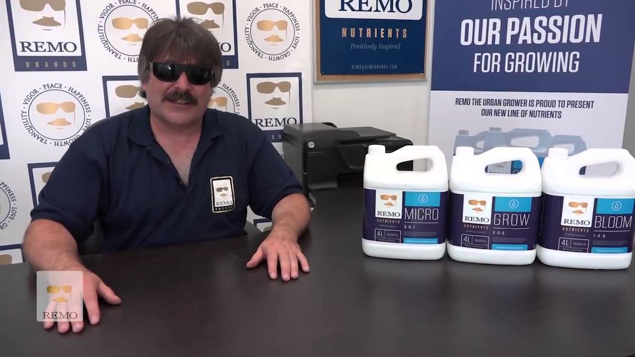 Remo Nutrients Grow Micro Bloom