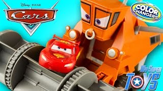 Disney Pixar Cars Color Changers Frank Chase & Change Lightning McQueen Toy Juguetes Rayo McQueen