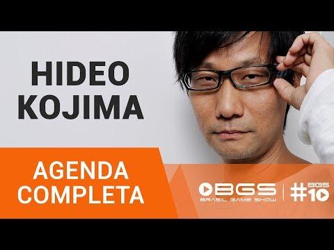 BRASIL GAME SHOW REVELA AGENDA DE HIDEO KOJIMA NA #BGS10
