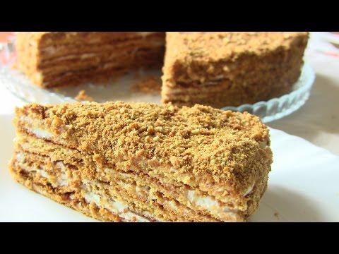 с видео медовый фото рецепт и торт