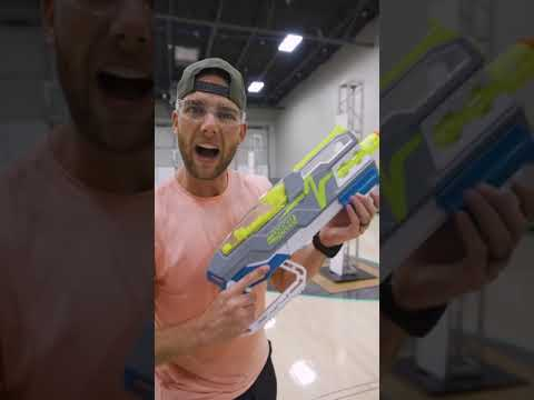 DUDE PERFECT NERF TRICK SHOTS | DUDE PERFECT #shorts