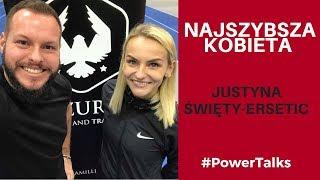 Justyna Święty-Ersetic - Mistrzyni Europy #PowerTalks