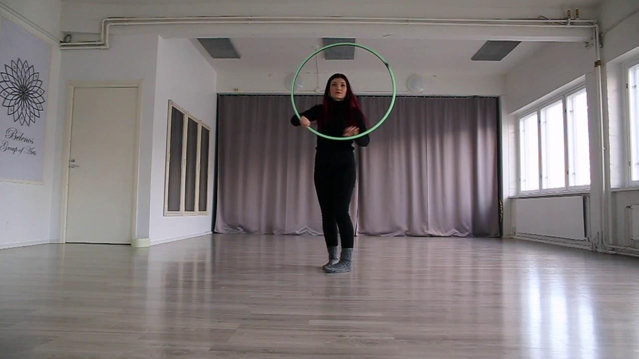 Helppo vannetanssi koreografia osa2. ( MoodforHoop 2020 )