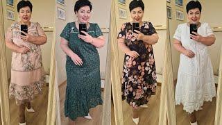 Шикарные стильные платья для женщин за 50 БЕЛОРУССКИЙ ТРИКОТАЖ лето 2021