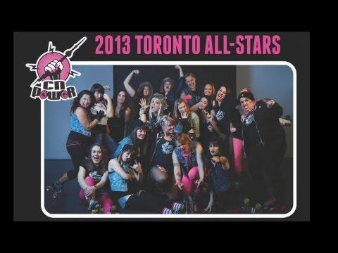 Toronto TORD CN Power vs OHRG All Stars P1 G2 Quad City Chaos QCC2013 2013 Roller Derby