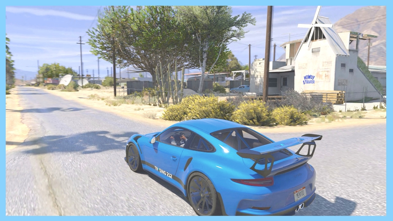 Grand Theft Auto V Natural Vision Ultra Realistic Graphics - Guy takes pictures showing just realistic grand theft auto v looks